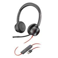 Plantronics BLACKWIRE 8225 BW8225-M USB Headphones with microphone