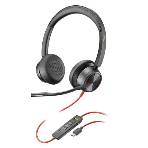 Plantronics BLACKWIRE 8225 BW8225-M USB-C Headphones with microphone