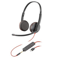 Plantronics Blackwire C3225 USB-C & 3,5mm Jack Stereo (209751-101)
