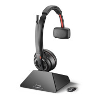 Plantronics SAVI 8210 UC MS USB-C Mono DECT Headphone with microphone (for software phones and computers)