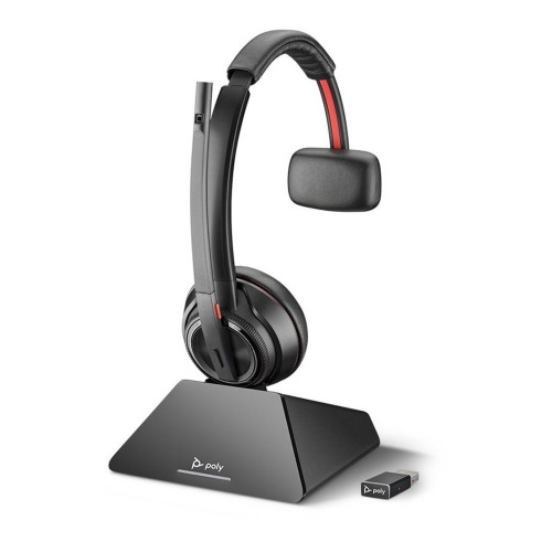 Plantronics SAVI 8210 UC MS USB Mono DECT Headphone with microphone (for software phones and computers)