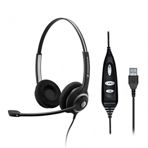 Sennheiser SC 260 USB CTRL II Headphones with microphone