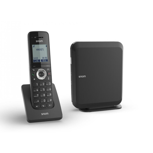 Snom M215 SC - base station M200 SC and IP DECT phone M15 SC (00004365)